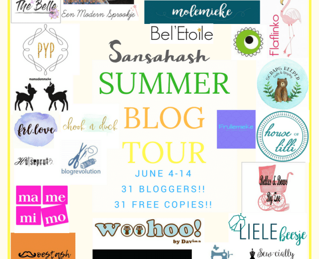 Sansahash Summer Blog Tour 2018!